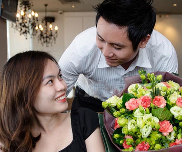 Tặng hoa tươi ho vơ yêu