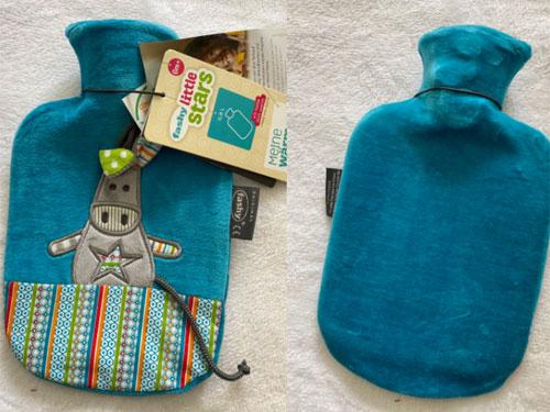 Túi chườm trẻ em Fashy họa tiết Lừa xanh