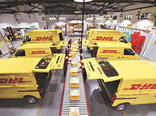 Dịch vụ chuyển phát nhanh của DHL