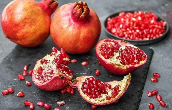 Quả lựu là một trong số những loại trái cây tốt cho bà bầu