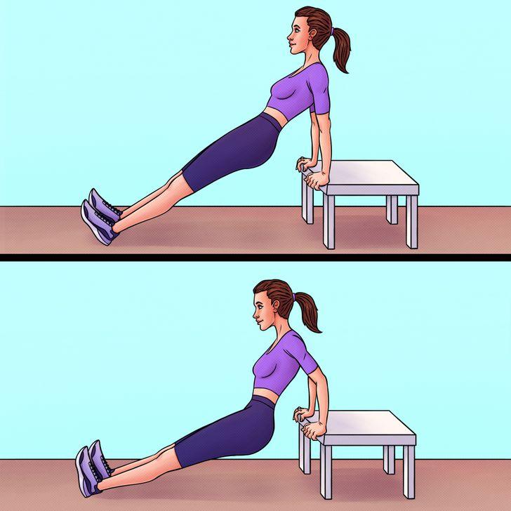 Strengthening triceps