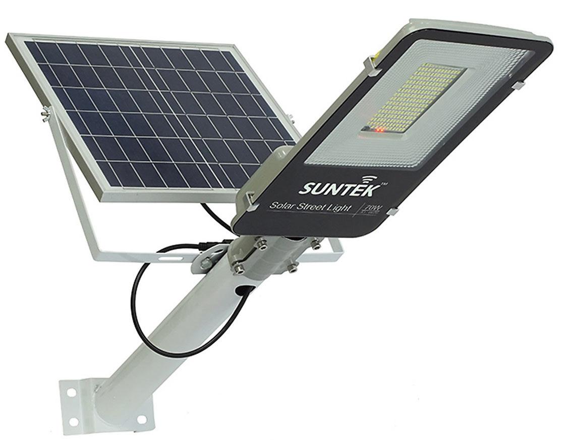 Đèn đường năng lượng mặt trời Suntek JD-6670