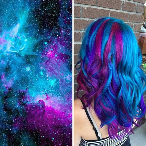 Màu tóc galaxy