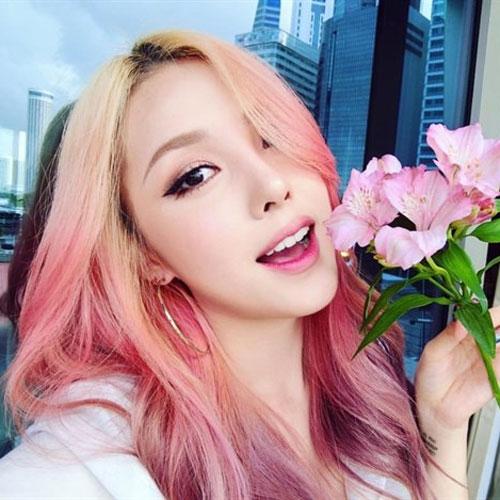 Tóc vàng hồng