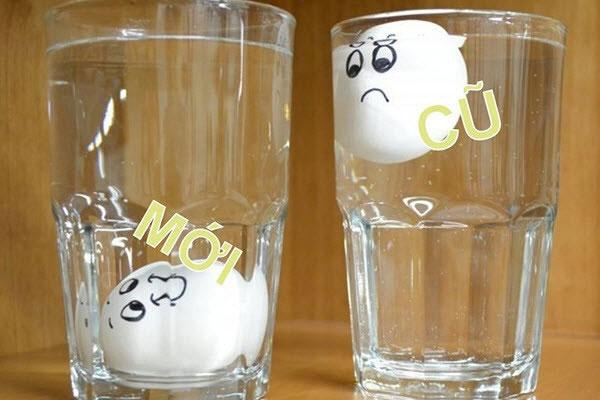 Nhận biết trứng ung