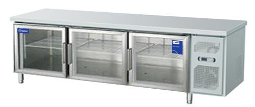 Tủ bàn lạnh 3 cánh kính Fushima FSMDL BLCK 1.8