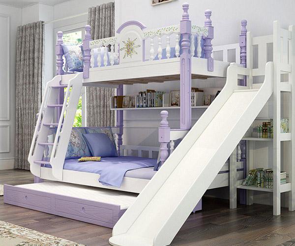 Mẫu giường tầng dành cho cả bé trai và bé gái