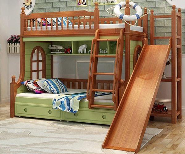 Tham khảo mẫu giường tầng cho bé trai, bé gái bán chạy nhất