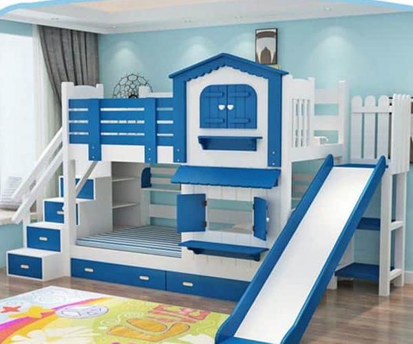 Mẫu giường tầng cho bé trai được nhiều người ưa chuộng
