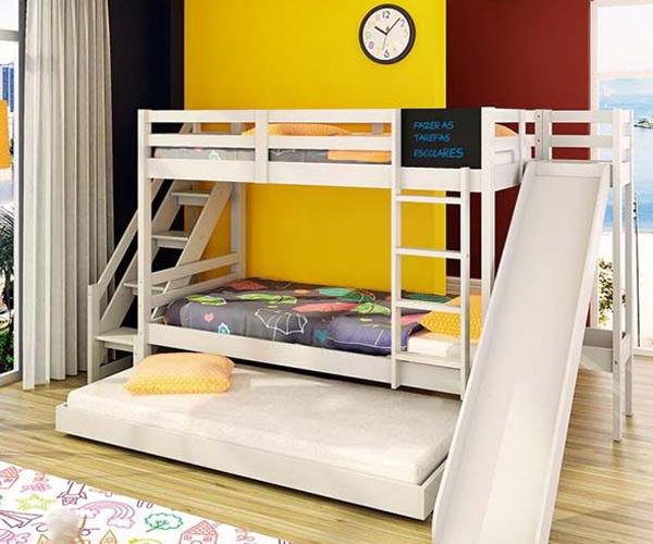 Mẫu giường được nhiều phụ huynh lựa chọn
