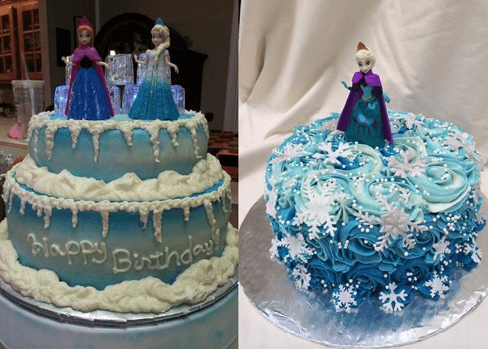 Bánh sinh nhật công chúa Elsa, Anna