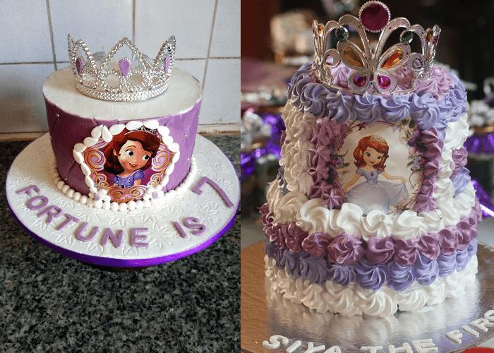 Bánh sinh nhật công chúa Sofia