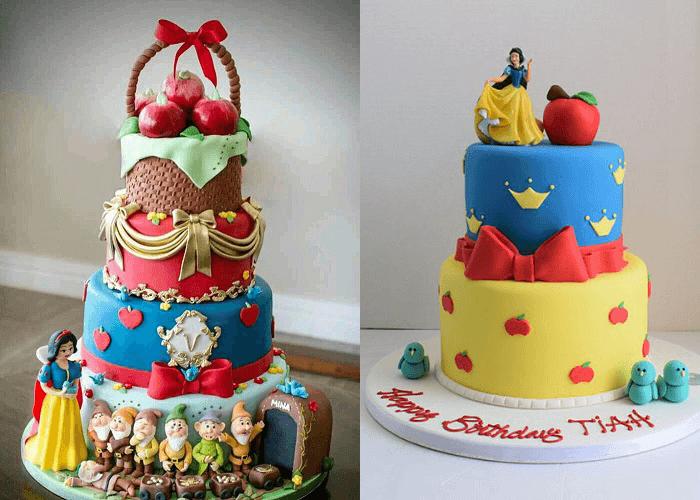 Bánh sinh nhật công chúa Bạch Tuyết