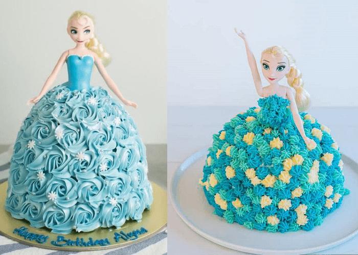 45+ bánh sinh nhật công chúa Elsa, Anna, Sofia, Bạch Tuyết đẹp, dễ thương nhất-META.vn