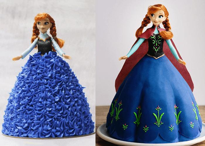 Bánh sinh nhật công chúa Anna