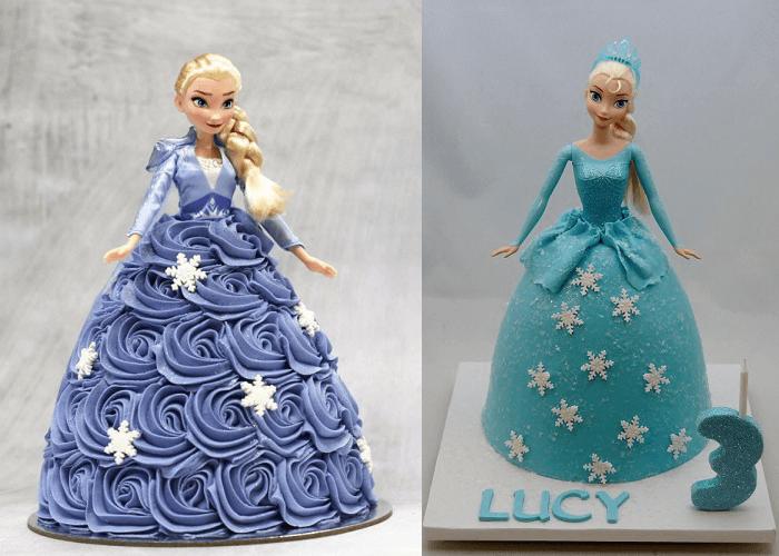 Bánh sinh nhật công chúa Elsa
