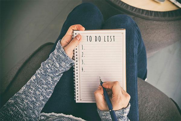 Lên danh sách đồ cần mua