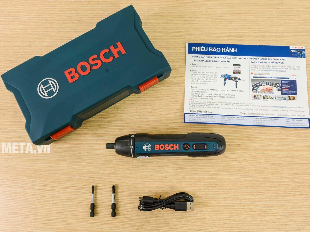 Máy vặn vít Bosch Go Gen 2 3.6V
