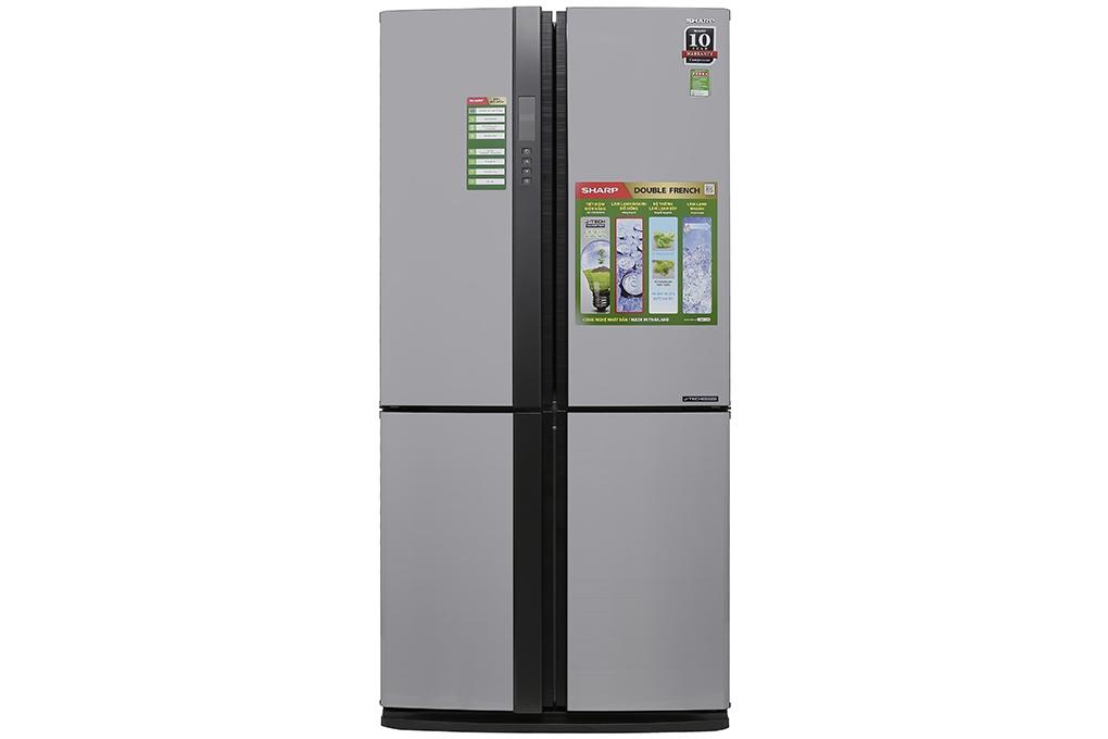Tủ lạnh side by side 678 lít Sharp SJ-FX680V-ST