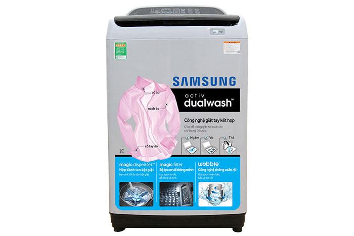 Máy giặt lồng đứng Samsung WA85J5712SG/SV 8,5kg