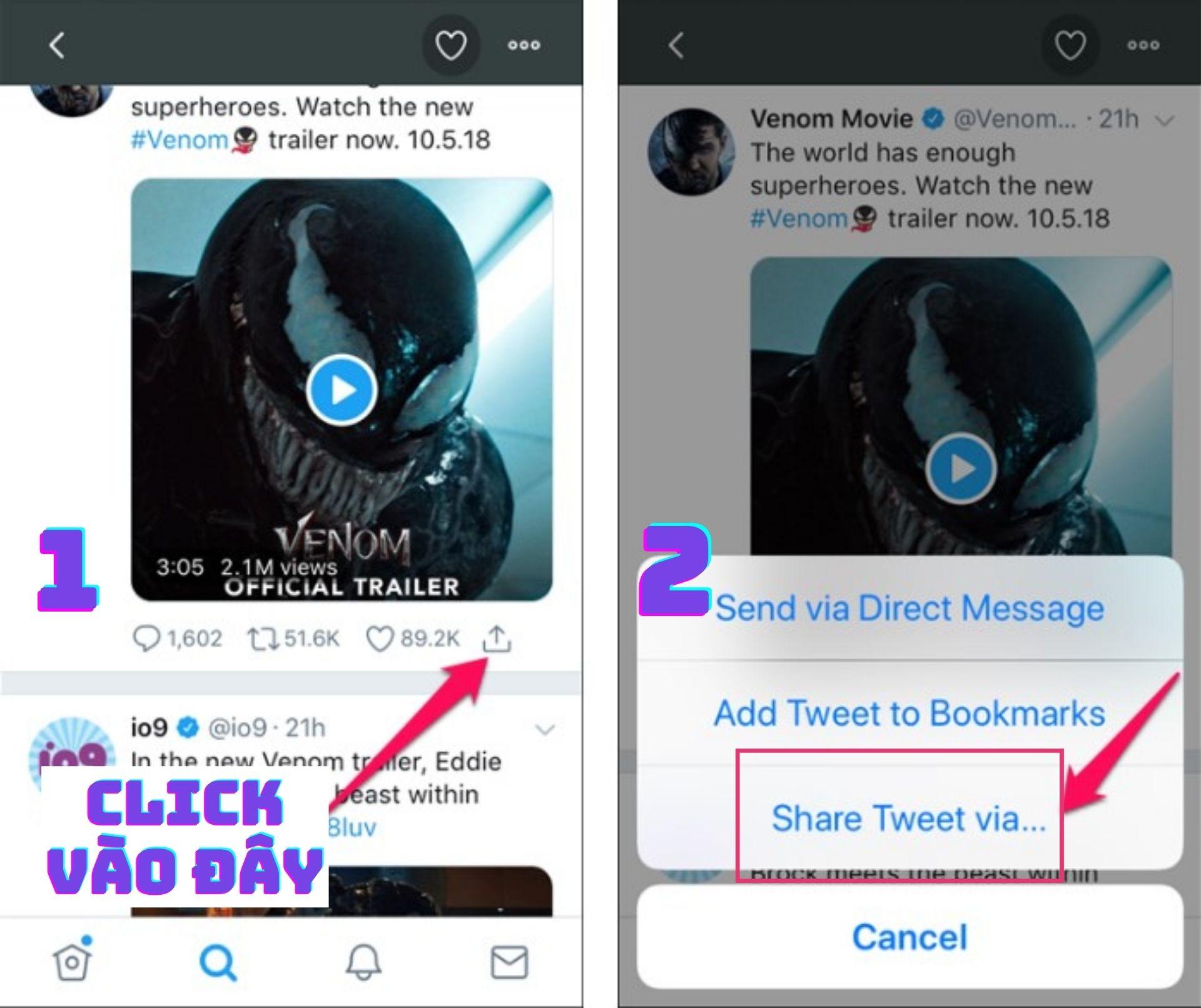 Cách tải video trên Twitter về iPhone đơn giản nhất