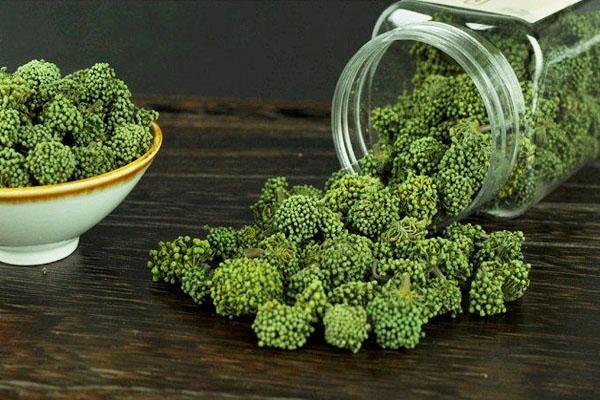 Nụ hoa tam thất khô là loại được ưa chuộng nhất trên thị trường