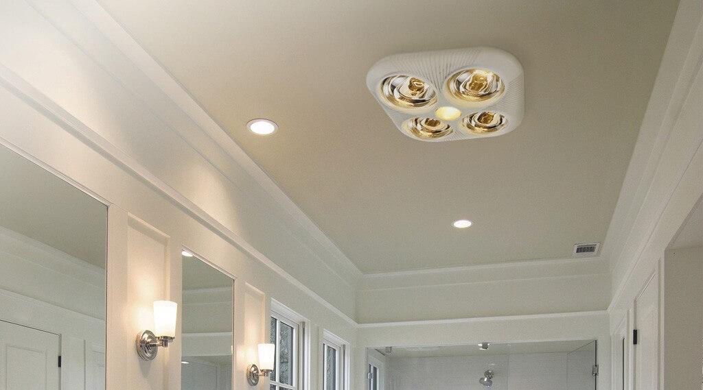 Đèn sưởi nhà tắm giá bao nhiêu?