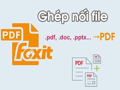 ghép file PDF