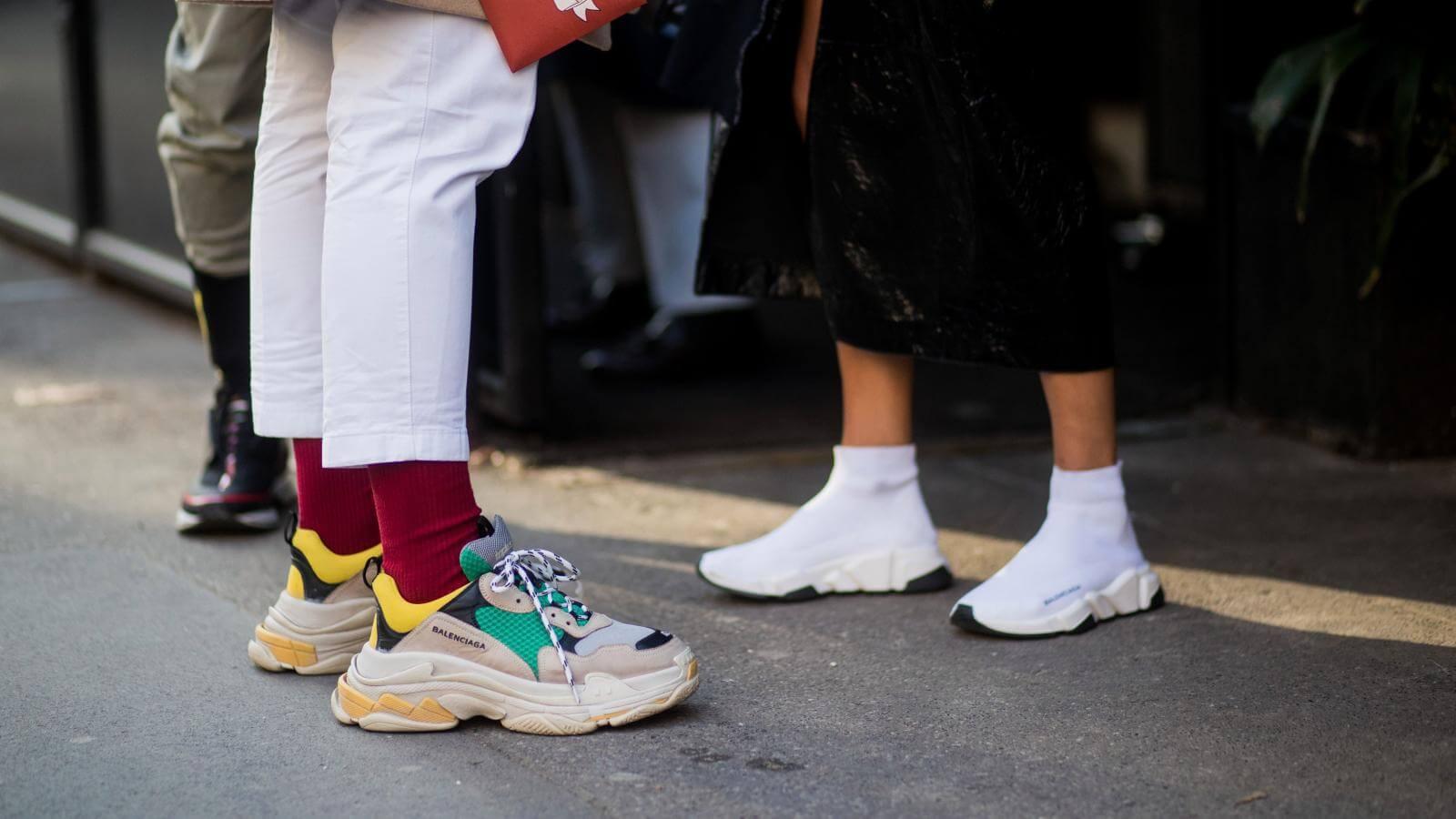 Các mẫu giày thể thao Balenciaga thiên về tính thời trang hơn độ chuyện nghiệp