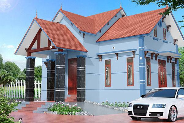 Màu sơn nhà đẹp cho mệnh Mộc