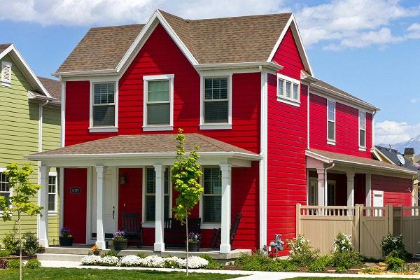 Mệnh Hỏa sơn nhà màu gì