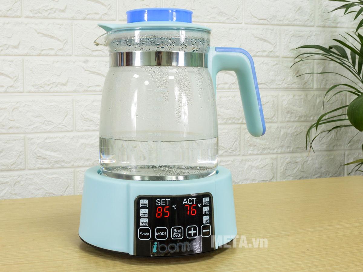 Bình đun nước thông minh ibonne IB-21 1,2 lít