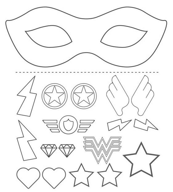 Mặt nạ Halloween siêu anh hùng