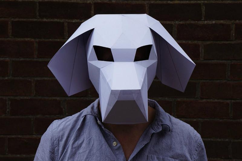 Cách làm mặt nạ giấy Halloween