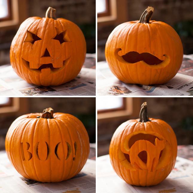 Trang trí bí ngô cho lễ Halloween