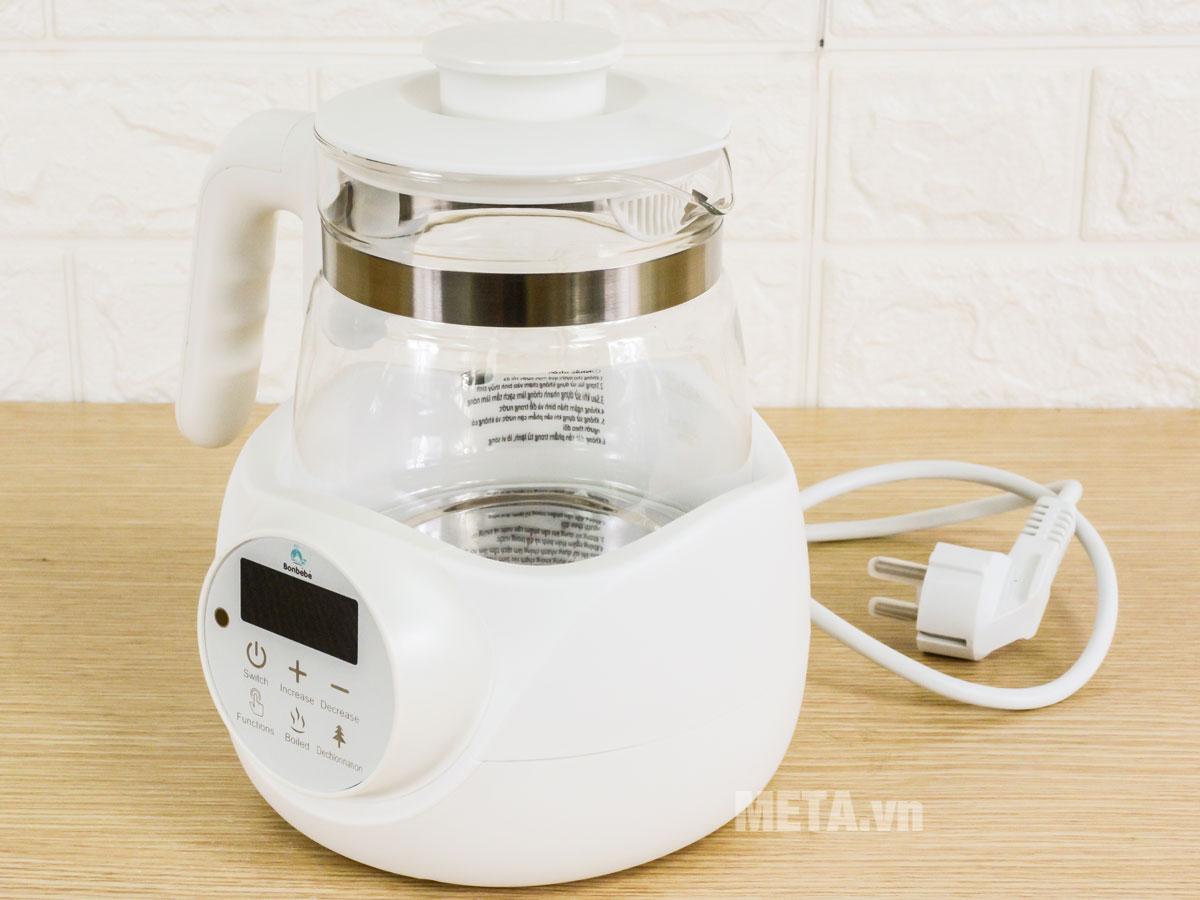 Bình đun nước pha sữa thông minh có điều khiển Bonbébé BB-06