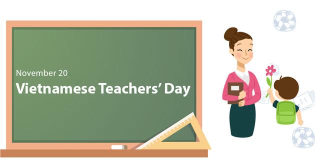 Lời chúc 20.11 bằng tiếng Anh gọn nhẹ, ý nghĩa mừng ngày Nhà giáo Việt Nam