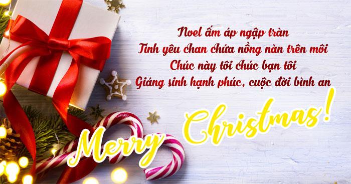 Lời chúc Giáng Sinh hay
