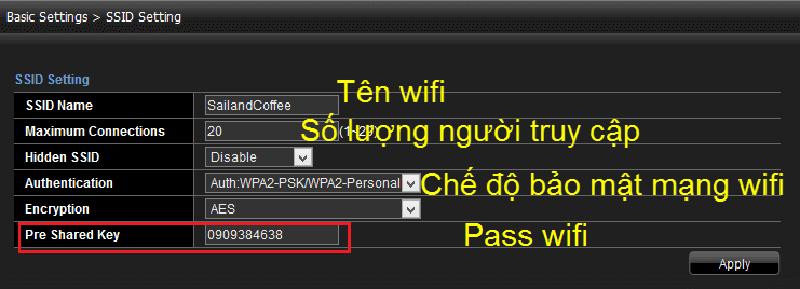 Cách đổi mật khẩu wifi Viettel trên máy tính