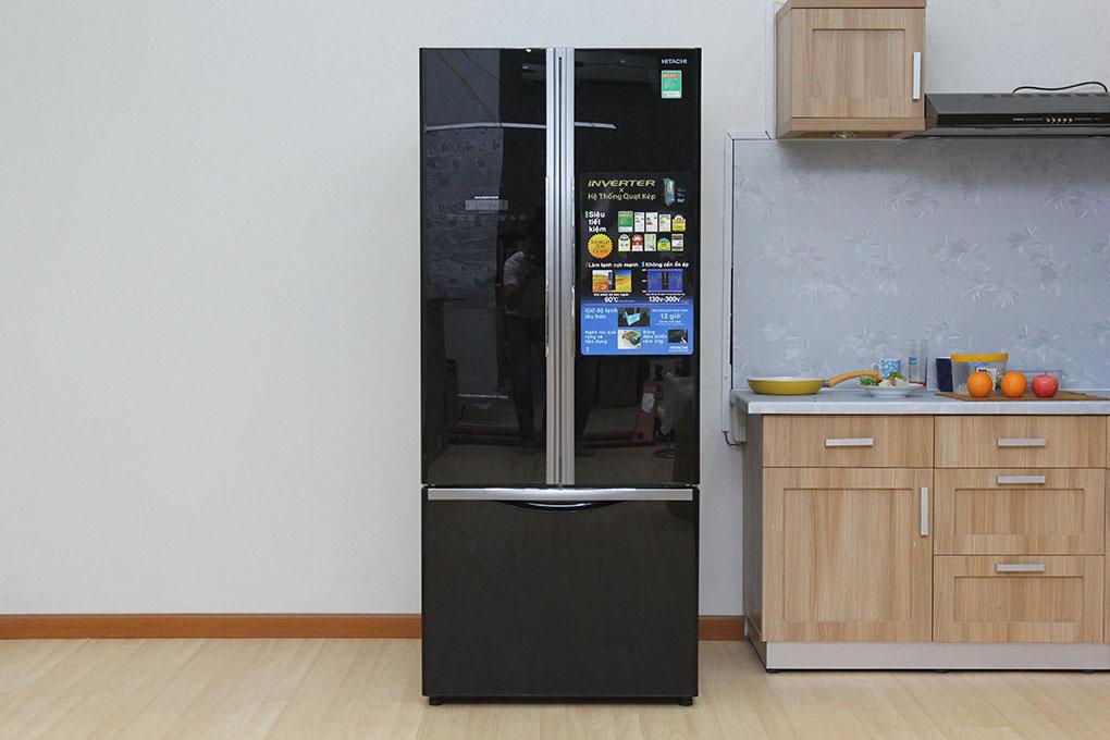Tủ lạnh 455 lít Hitachi R-FWB545PGV2(GBK) - màu đen