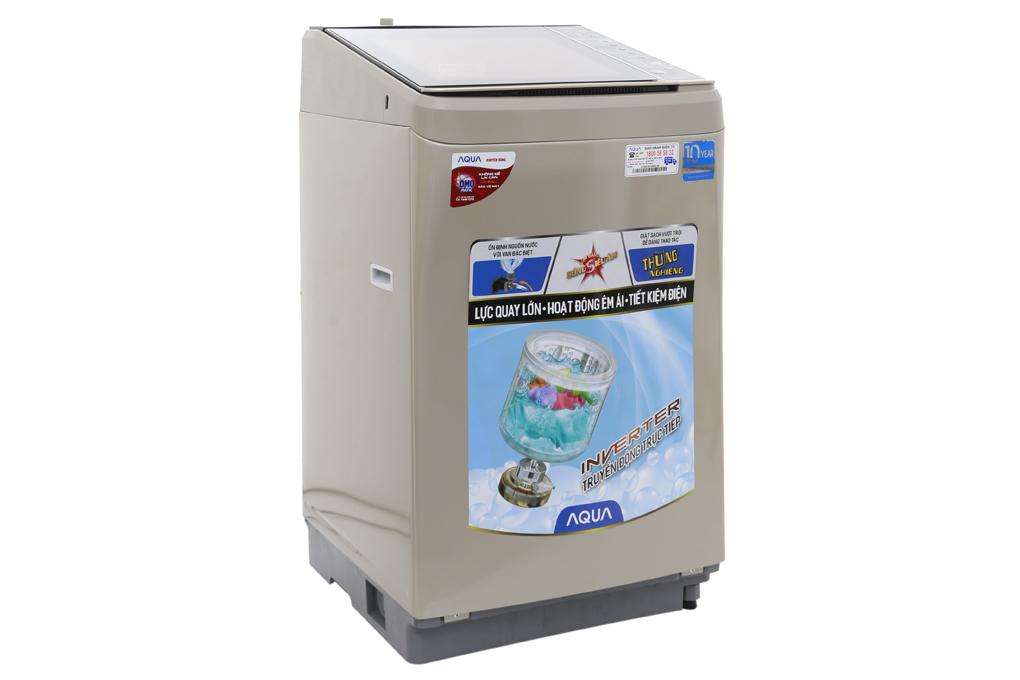 Máy giặt Aqua Inverter AQW-D901BT (N) 9kg - Màu vàng kim