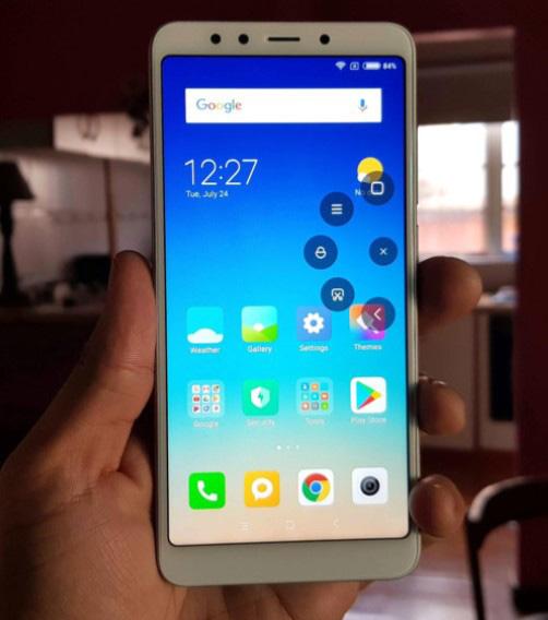 Chụp màn hình Android Xiaomi bằng Quick-ball