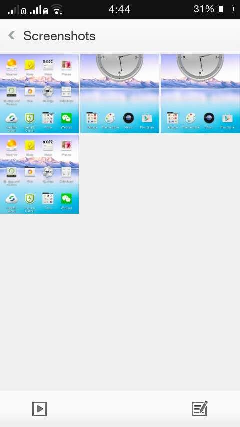Cách chụp màn hình điện thoại Oppo