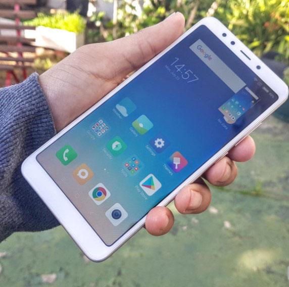 Chụp màn hình điện thoại Xiaomi