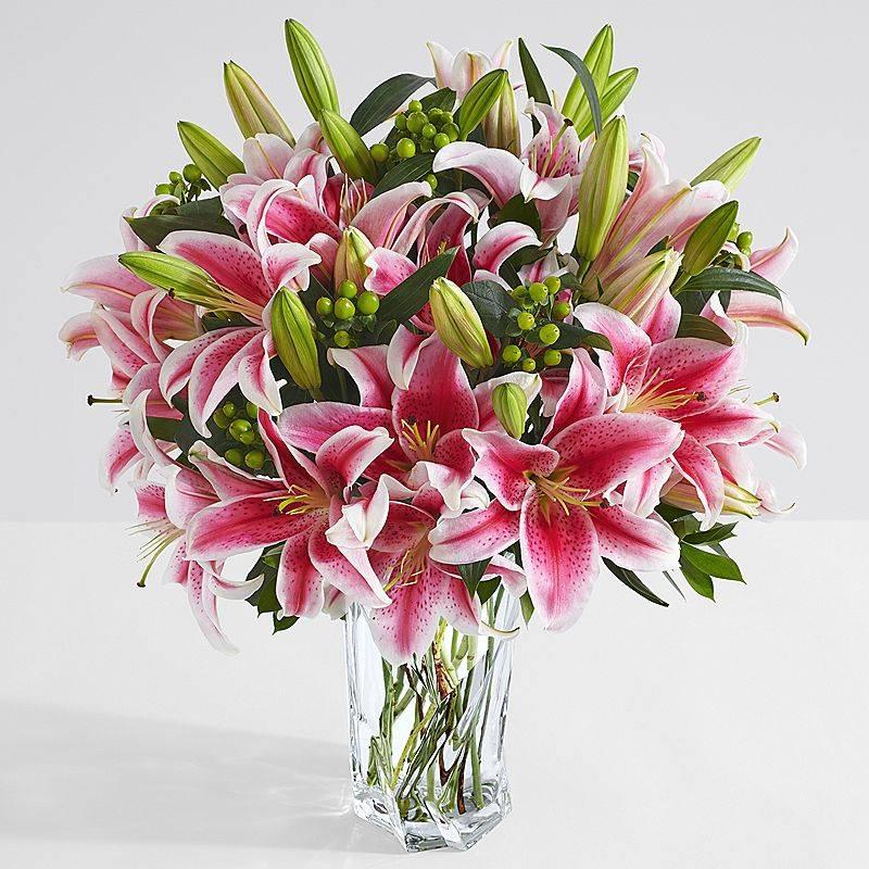 Mẫu cắm hoa ly đẹp ngày Tết
