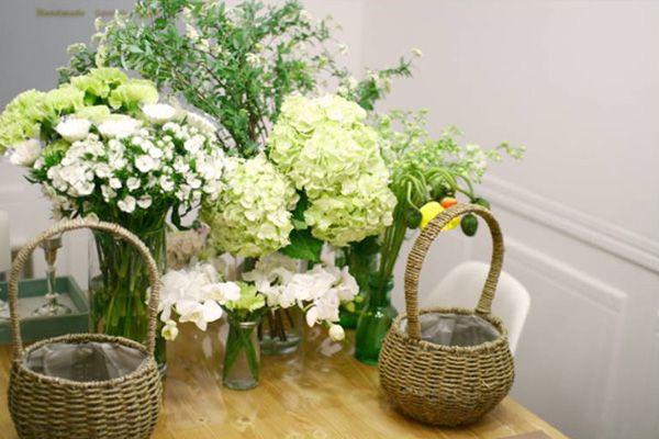 Mẫu cắm hoa để bàn ngày Tết