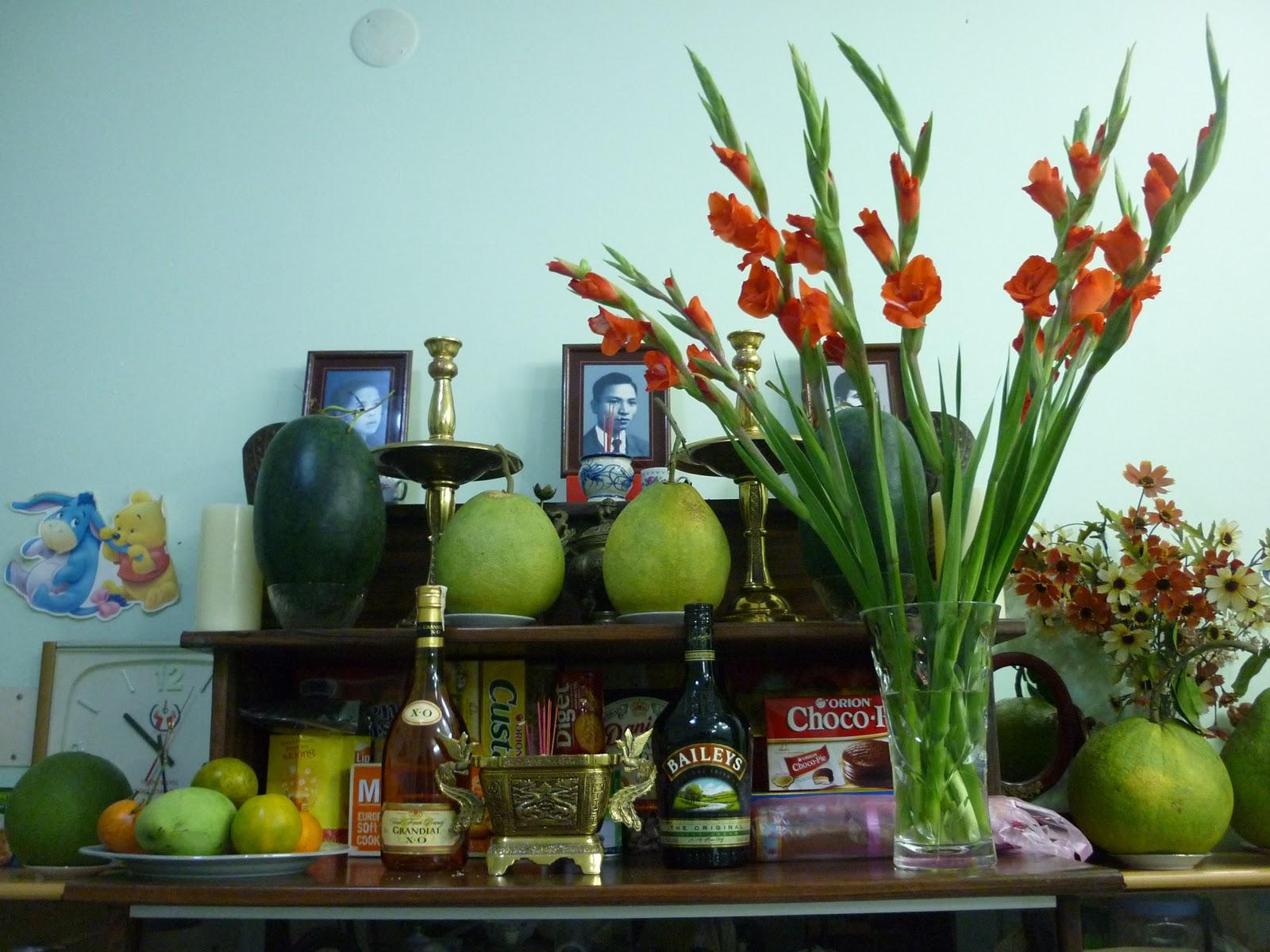 Hoa lay ơn thường được dùng để cắm hoa bàn thờ ngày Tết