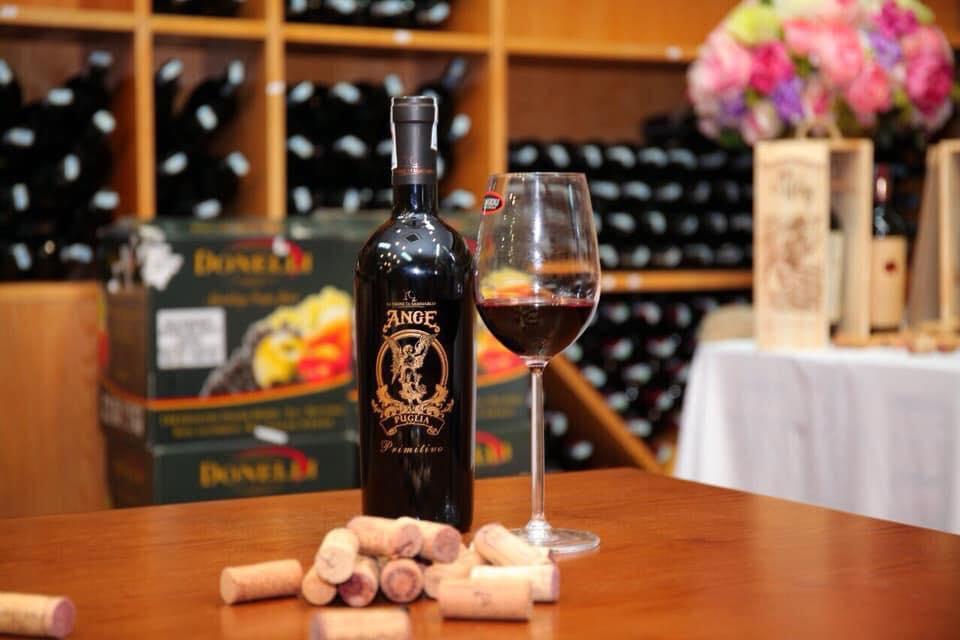 Rượu vang đỏ Primitivo