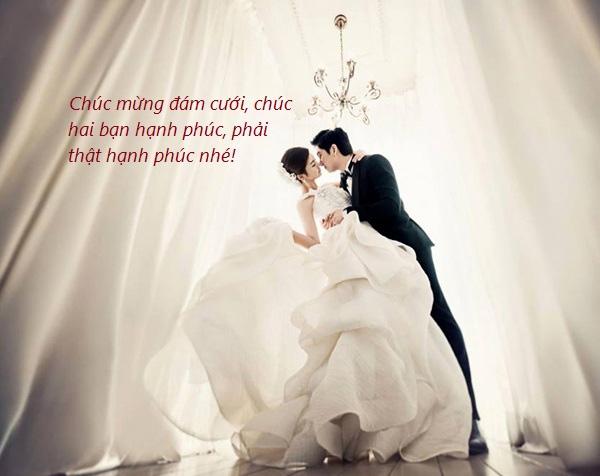 Lời chúc đám cưới bạn thân hay, ý nghĩa
