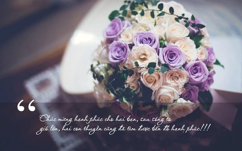 Lời chúc đám cưới bạn thân hài hước